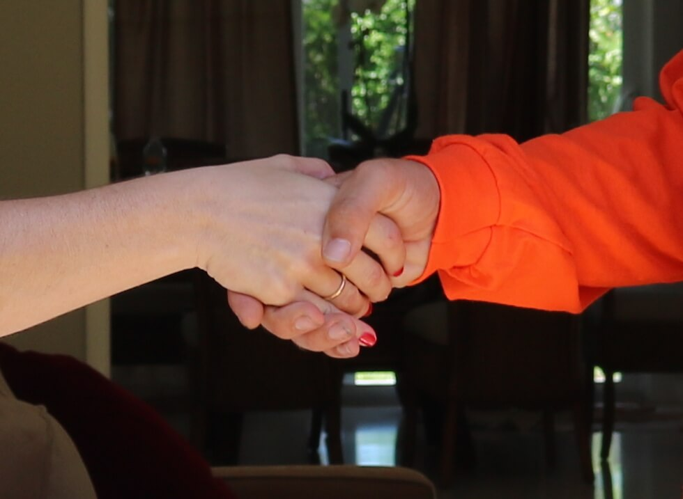 Satisfaction Guarantee Handshake