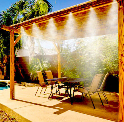 Outdoor Mosquito Misting System - For homes and businesses